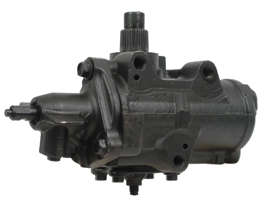 Steering gear box for gas powerer Ford F250 and F350